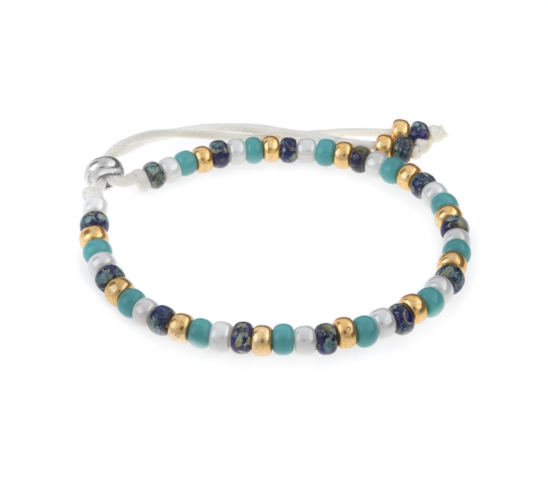 Miyuki bracelet beach gold-1