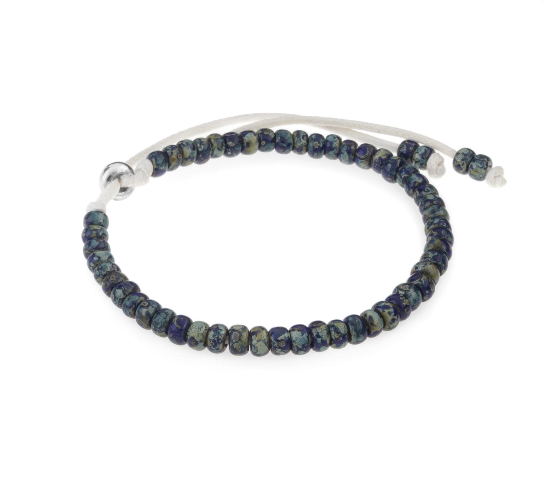 Miyuki armband cobalt blue-1