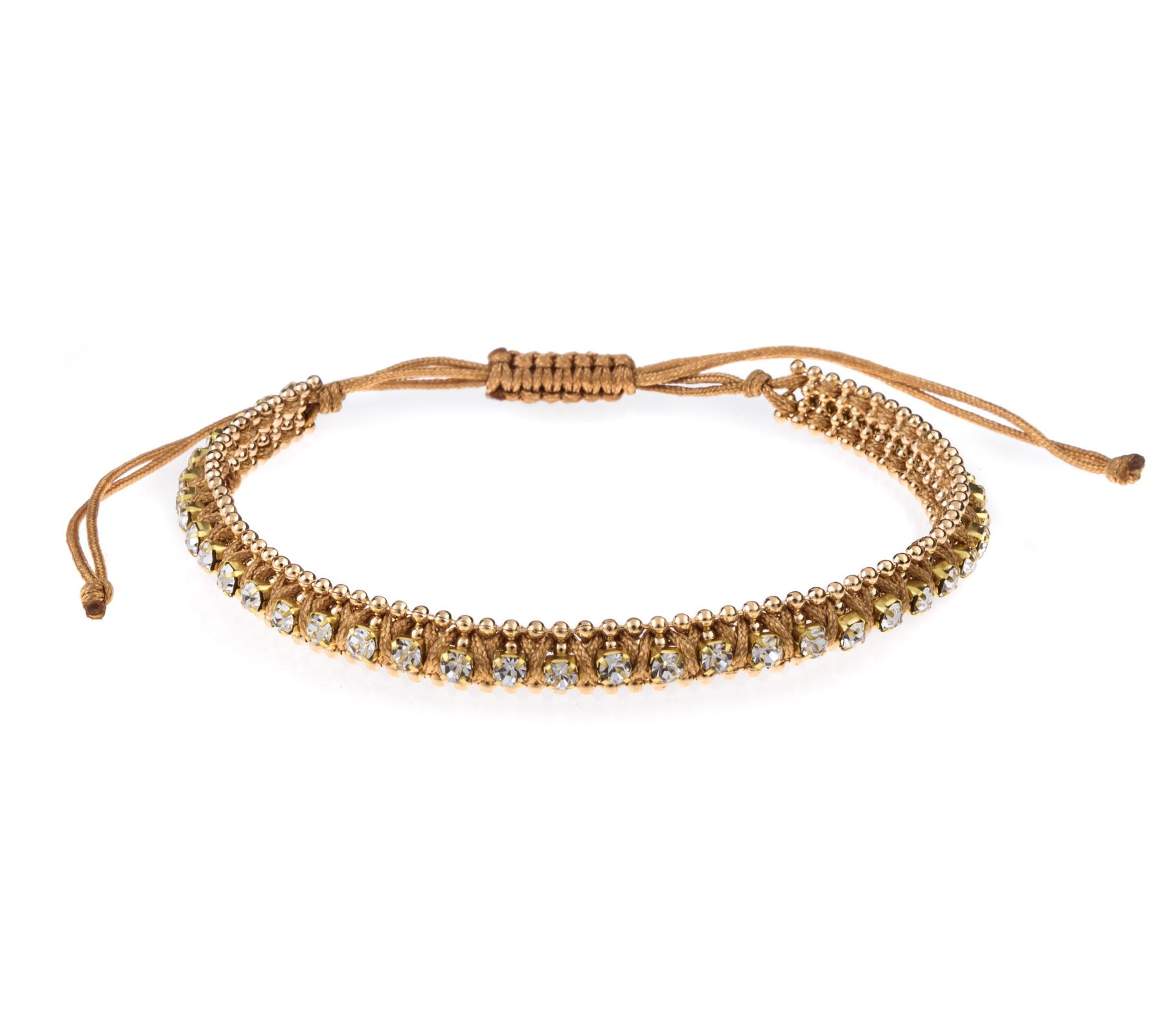 Armband met strass steentjes-2