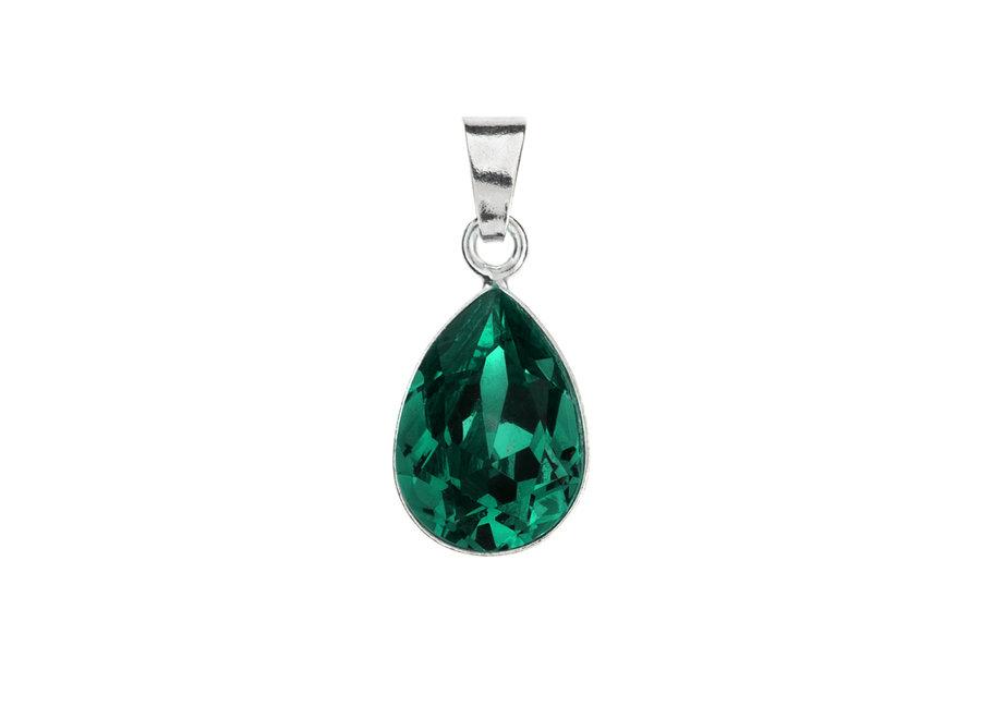 Silver pendant with Swarovski crystal