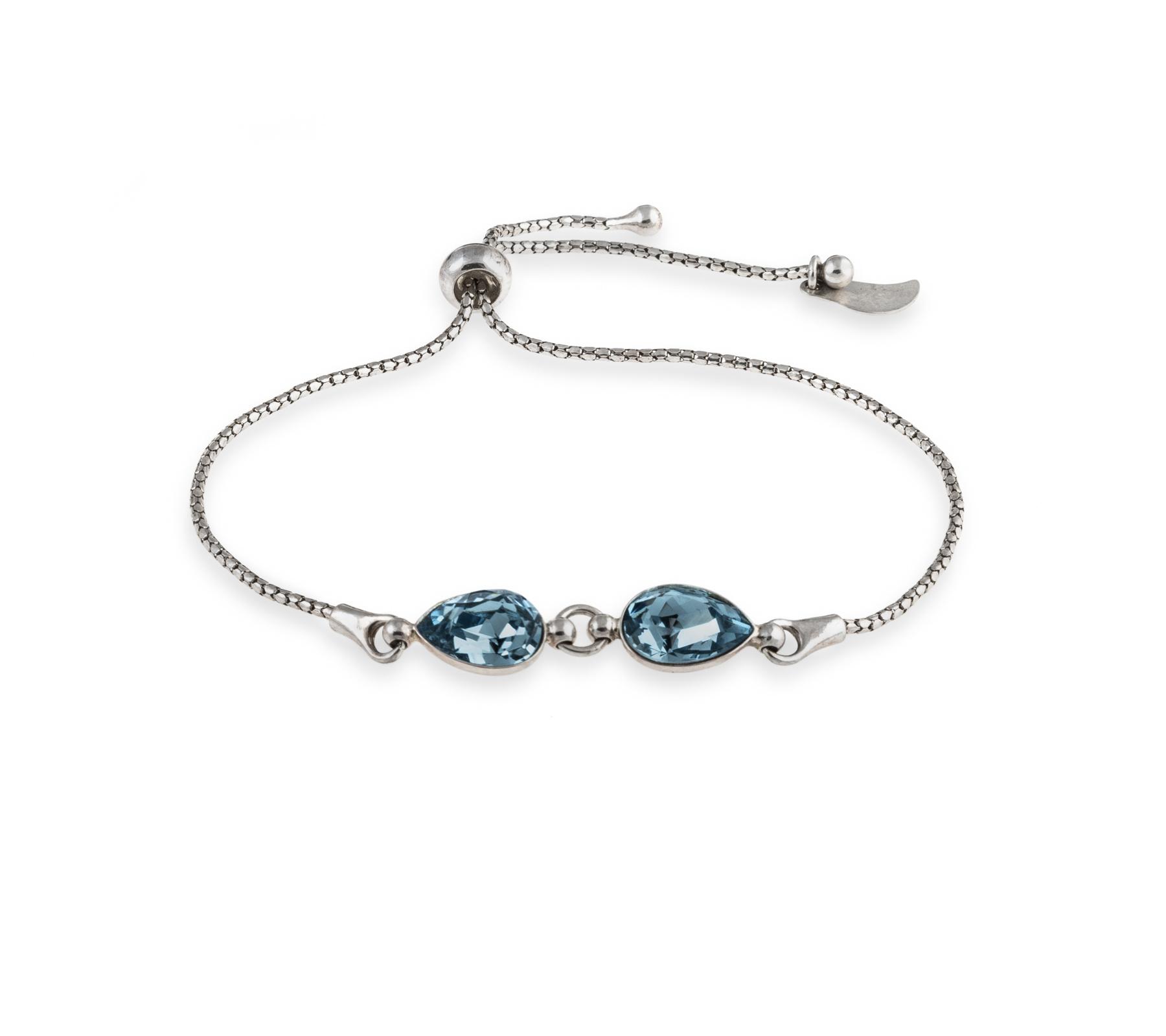 Bracelet with Swarovski crystals-1