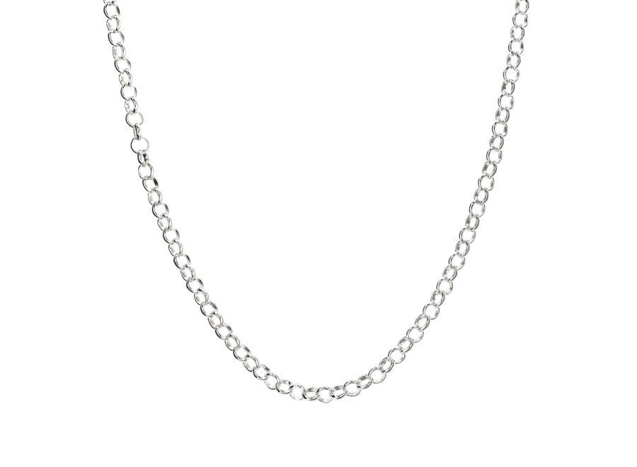 Silver chain jasseron