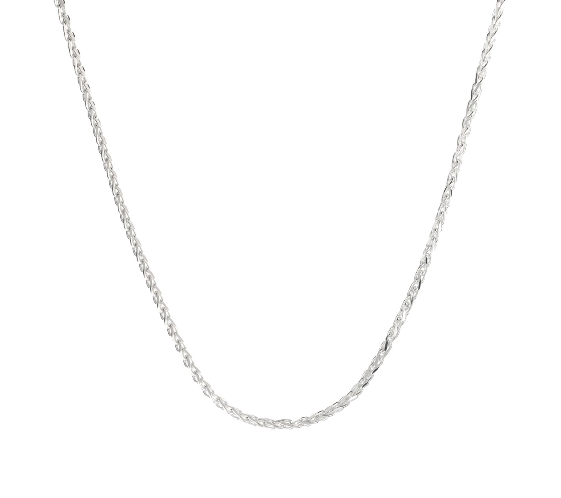 Zilveren ketting vossenstaart-1