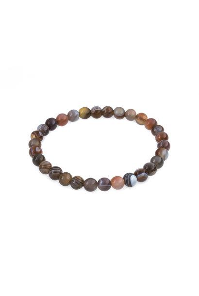 Gemstone bracelet botswana agate