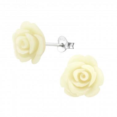 Ear stud rose-5
