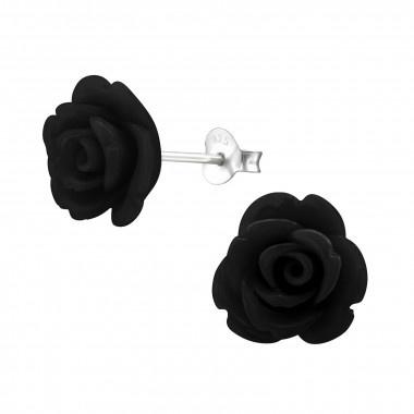 Ear stud rose-4