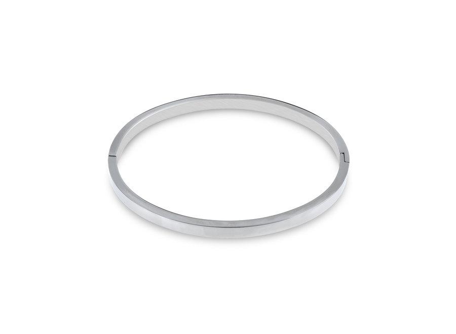 Bangle armband rvs
