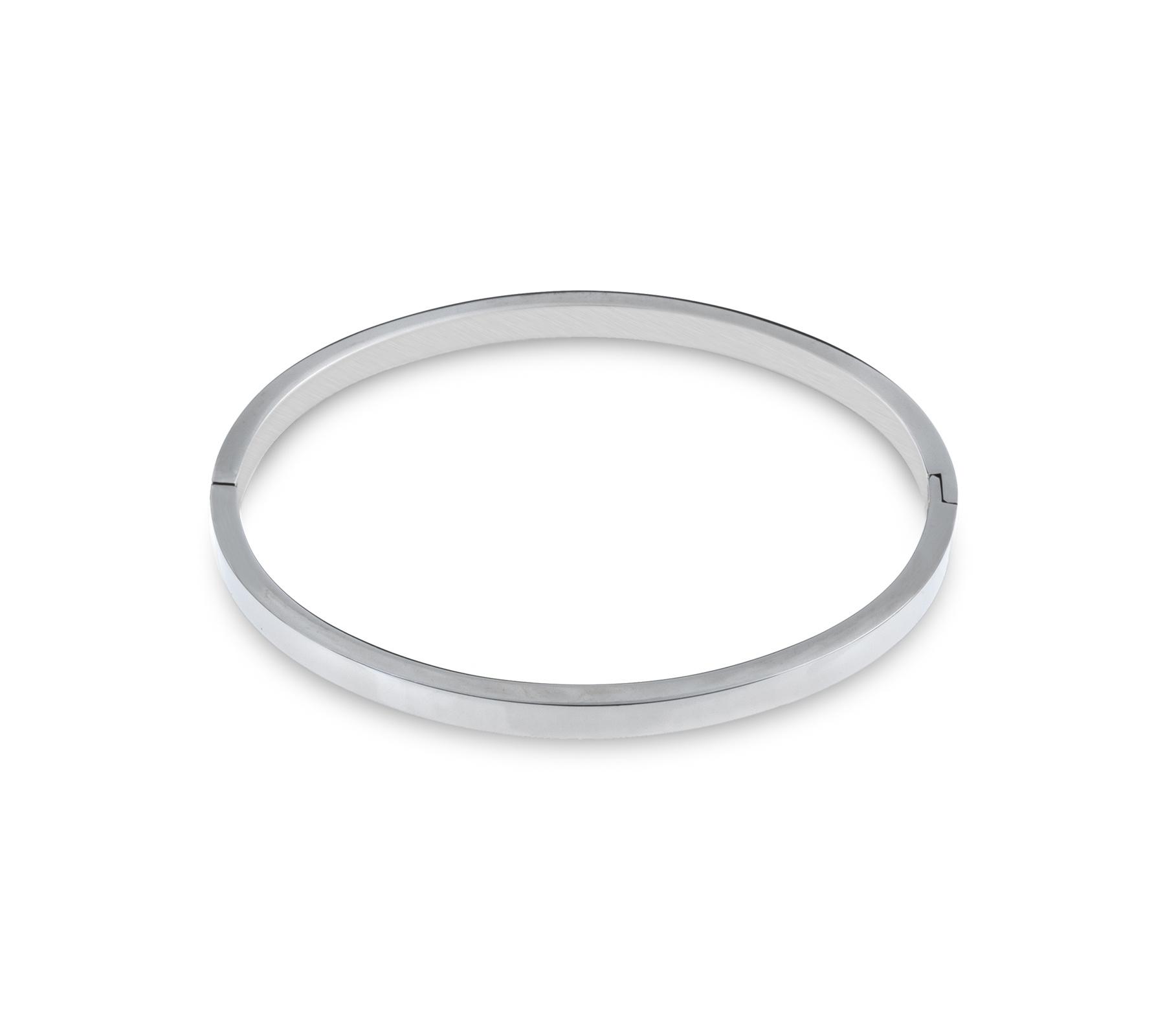 Bangle armband rvs-1