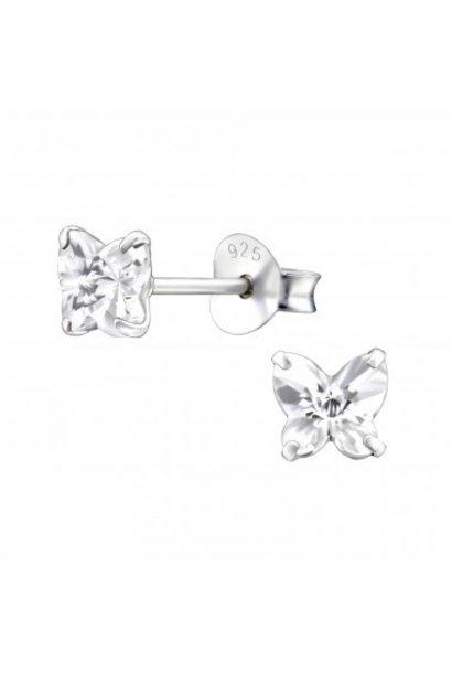 Zilveren oorstekers vlinder