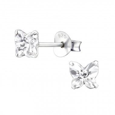 Zilveren oorstekers vlinder-1