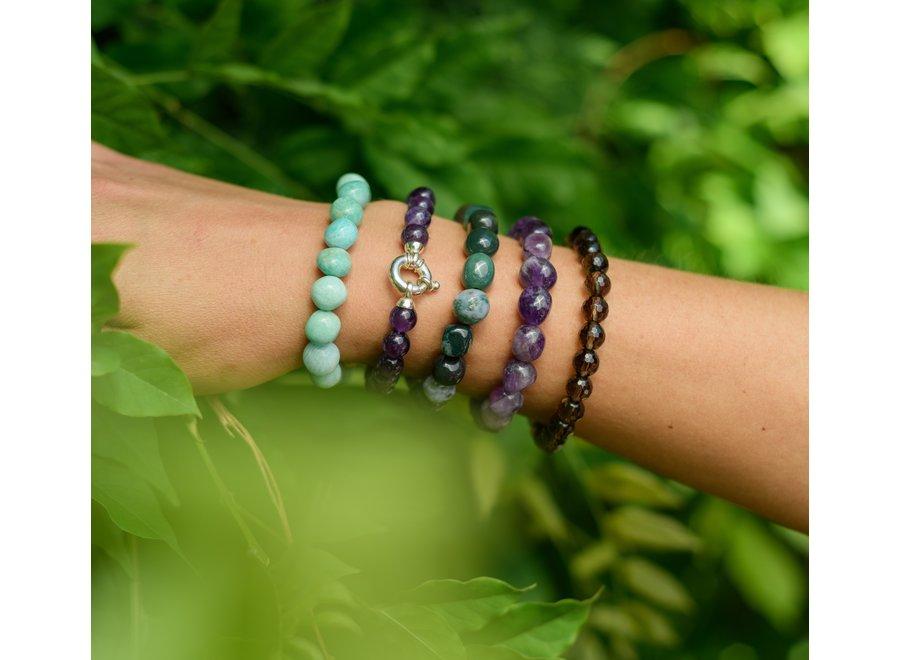 Bracelet fuchsite