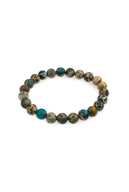 Gemstone bracelet sea jasper