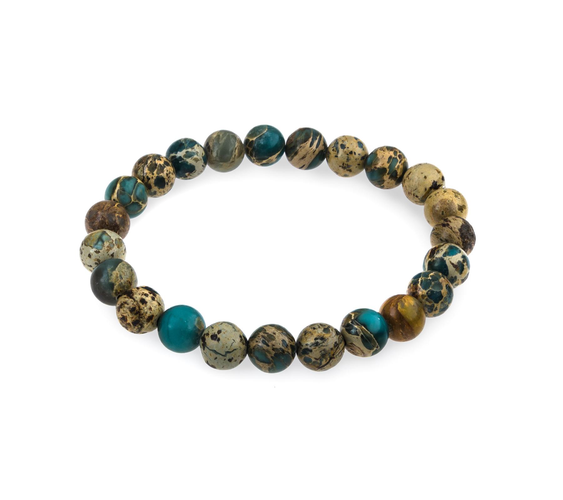 Gemstone bracelet sea jasper-1