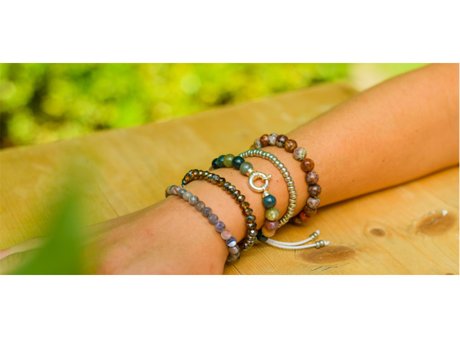 Edelsteen armband Afrikaanse opaal