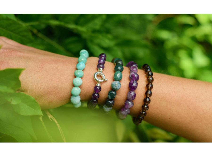 Gemstone bracelet amethist