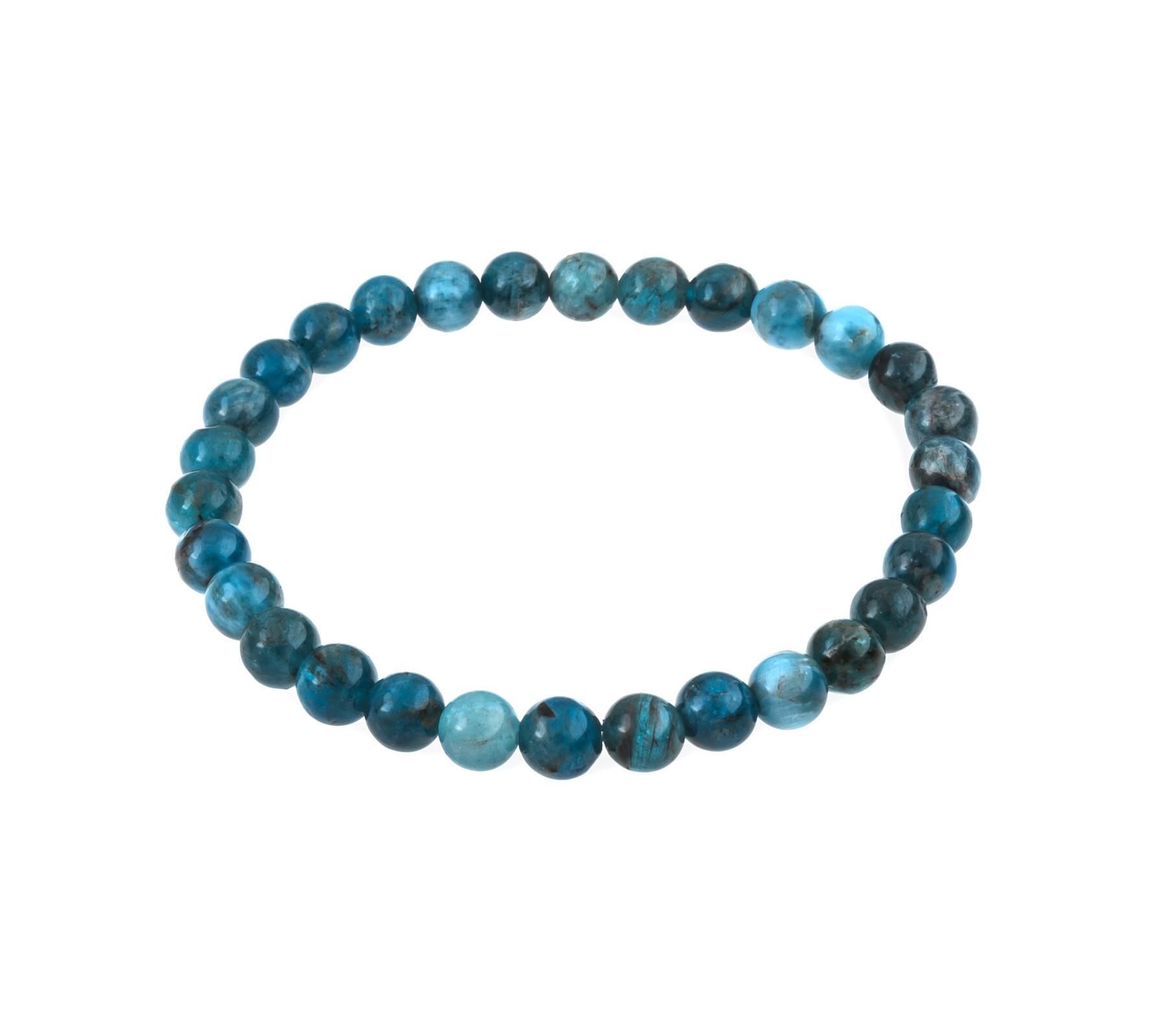 Gemstone bracelet apatite-1
