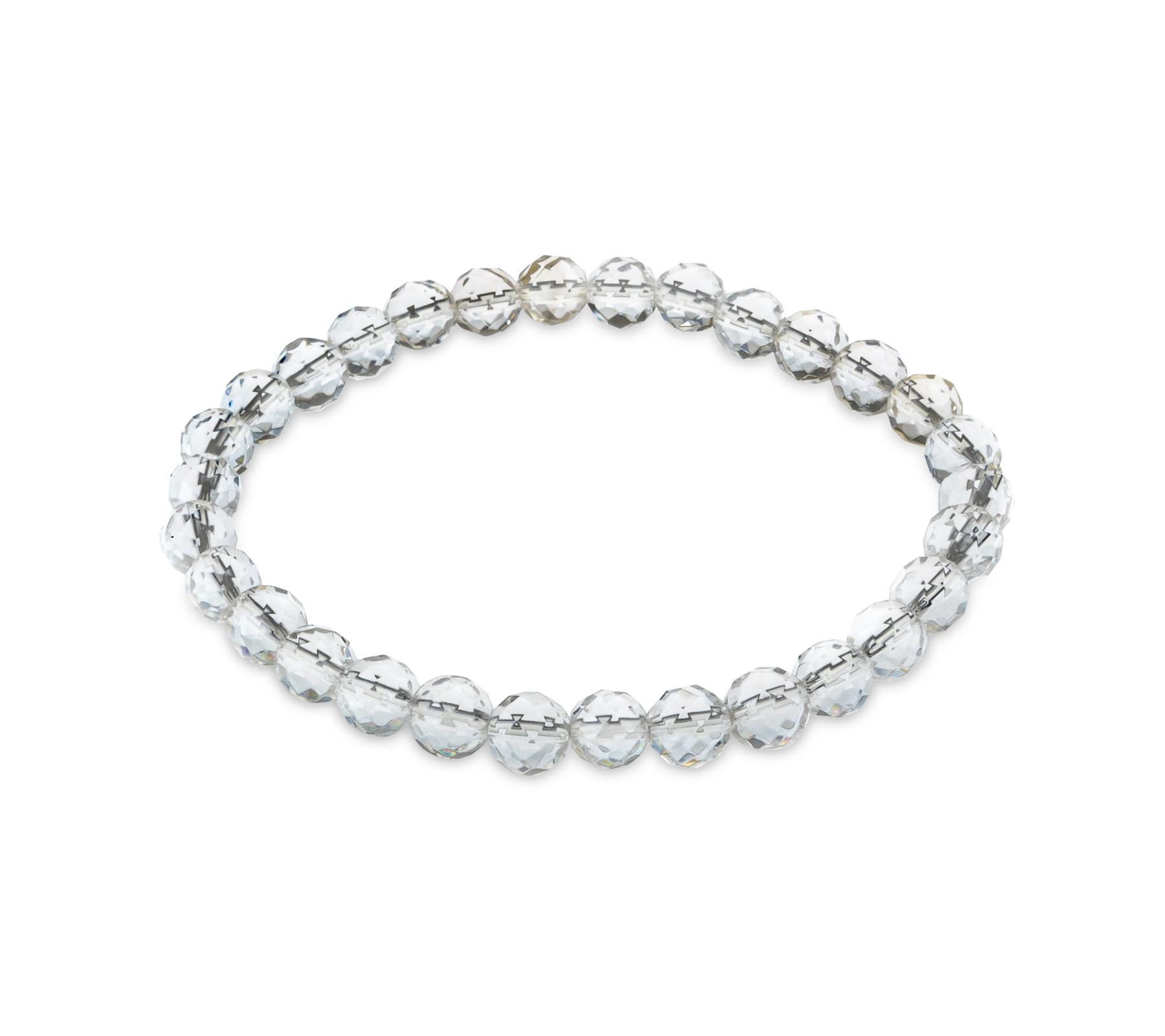 Edelsteen armband bergkristal-1