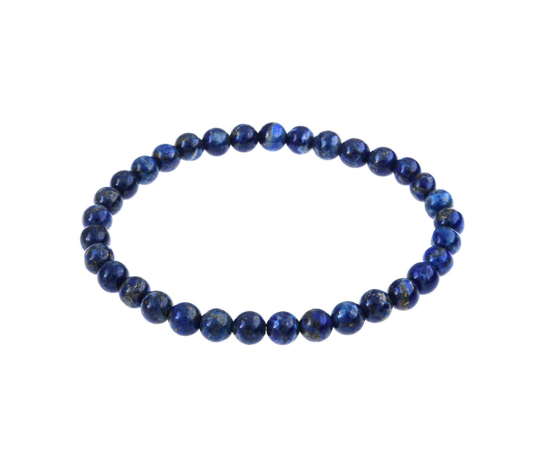Edelsteen armband lapis lazuli-1
