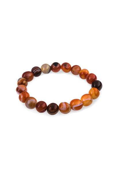Gemstone bracelet carnelian