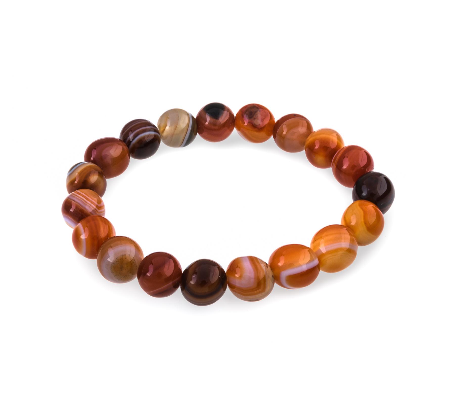 Gemstone bracelet carnelian-1