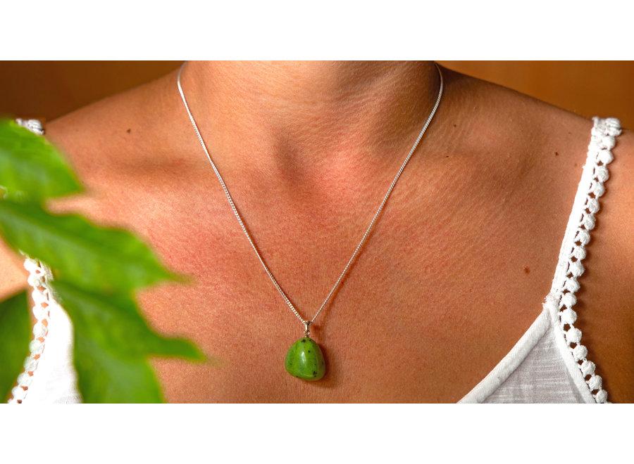 Hanger groene Jade