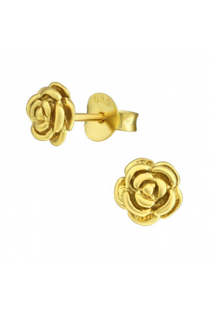 Ear studs rose