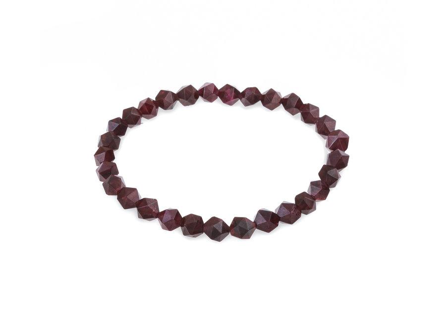 Gemstone bracelet garnet