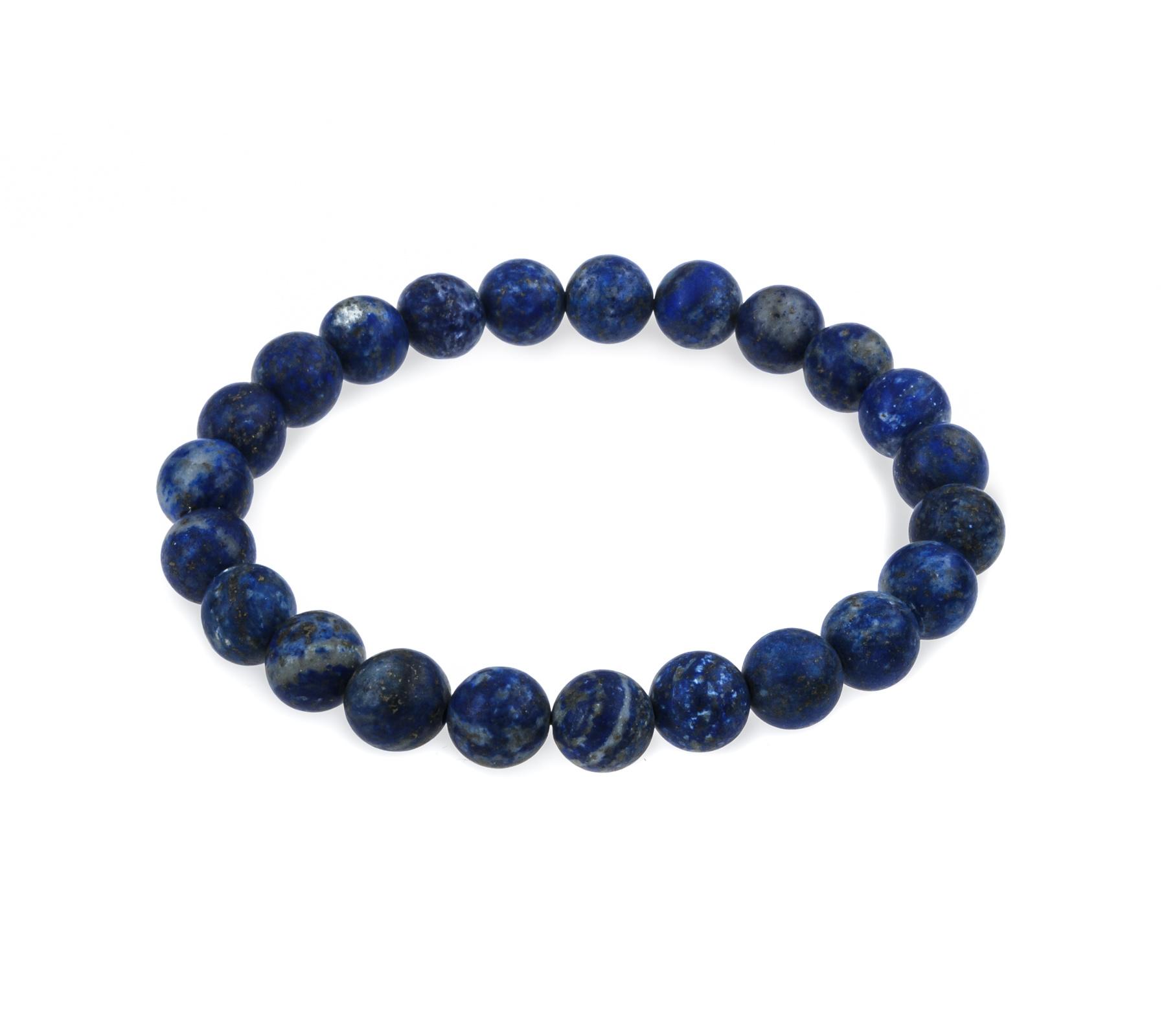 Edelsteen armband lapis lazuli mat-3