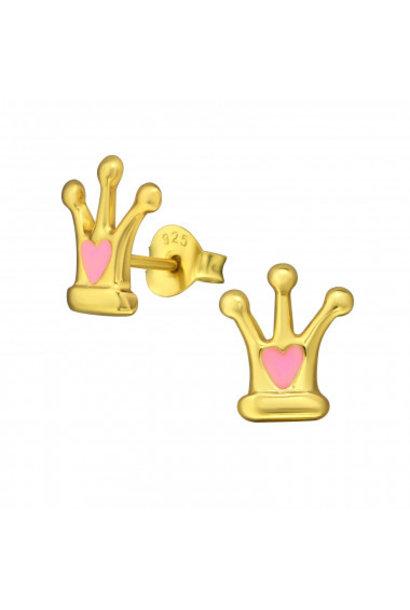 Ear studs crown