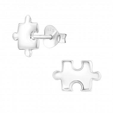 Zilveren oorstekers puzzelstukje-1