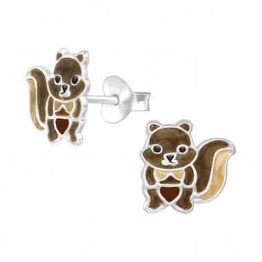 Zilveren oorstekers eekhoorn-1
