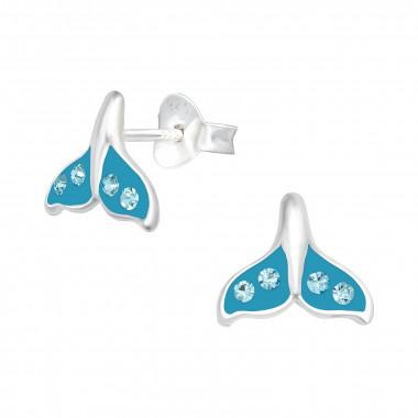 Zilveren oorstekers walvisstaart-1