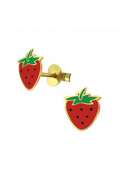 Ear studs strawberry