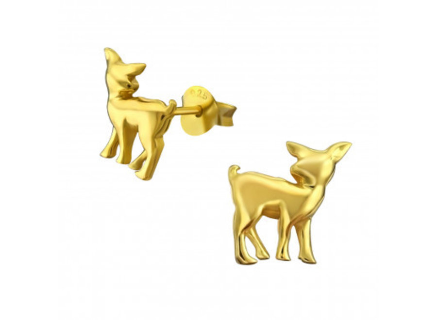 Ear studs deer