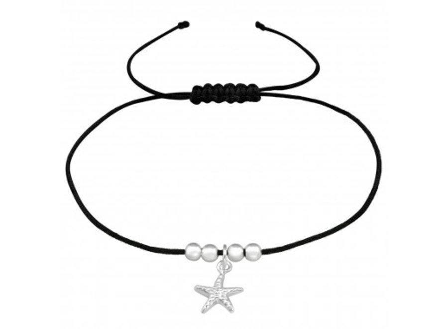 Adjustable bracelet starfish
