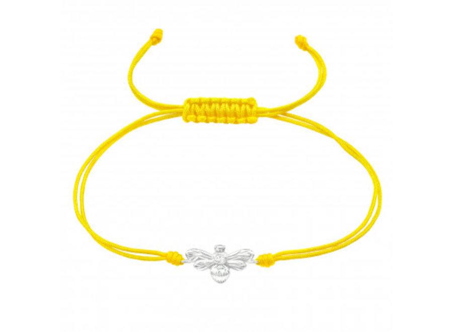 Adjustable bracelet bee