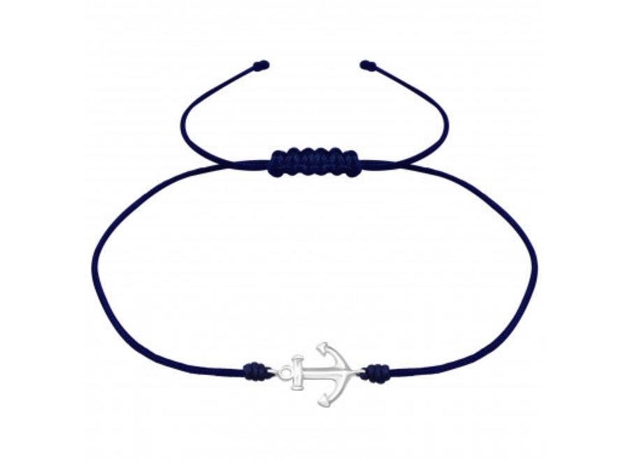 Adjustable bracelet anchor