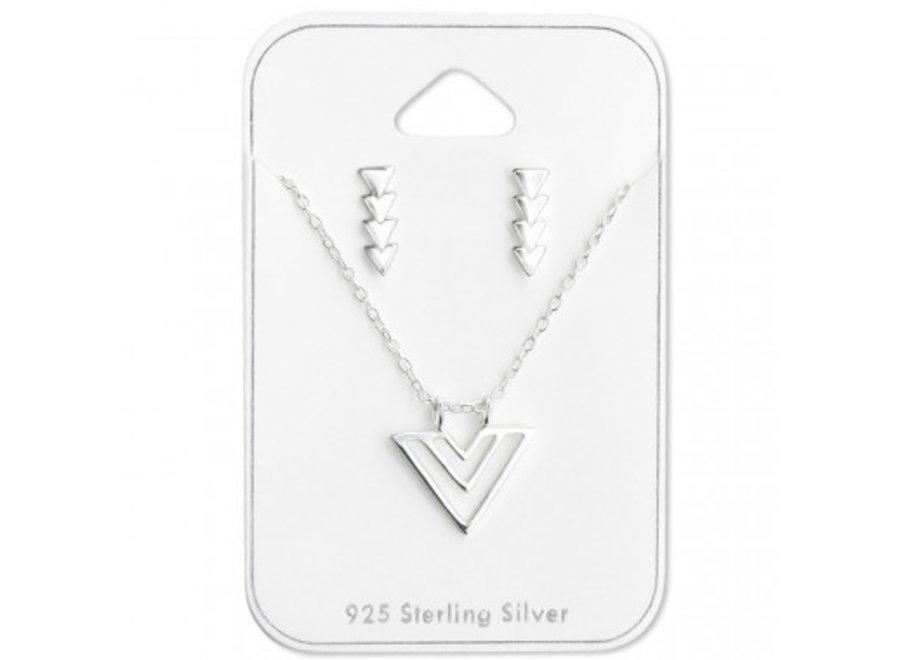 Gift set triangle