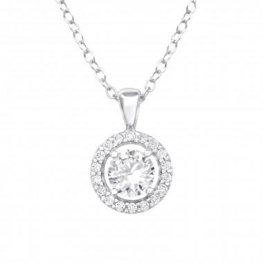Silver chain zirconia stone-1