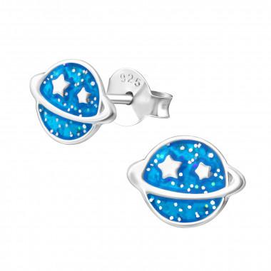 Zilveren oorstekers planeet-1