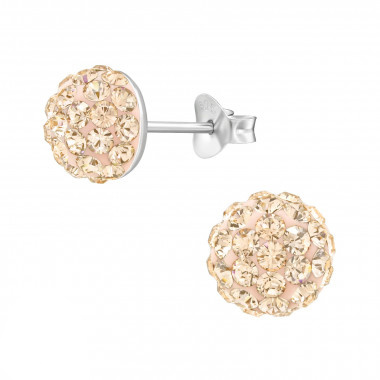 Zilveren oorstekers kristallen-1