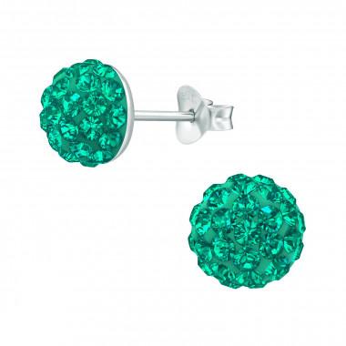 Zilveren oorstekers kristallen-3