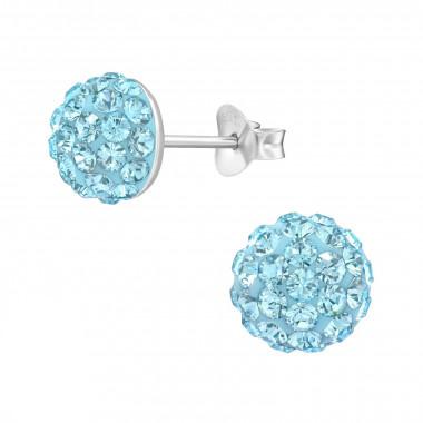 Zilveren oorstekers kristallen-4
