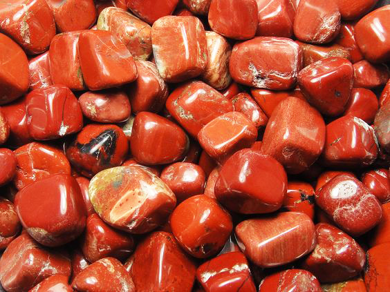 Gemstone red jasper-3