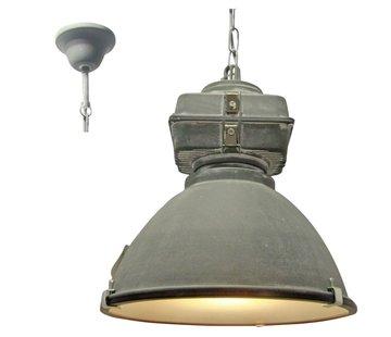 Brilliant Brilliant Industriele Hanglamp Anouk 93678/70 beton 40cm