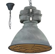 Brilliant Brilliant Hanglamp Anouk XL met rooster 93680/70 beton 48cm
