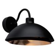 Brilliant Brilliant Wandlamp Billy 94447/76 zwart brons 23cm
