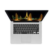 Forza Refurbished Apple Macbook Air 13 Inch US Keyboard AZERTY Cover Zwart Macbook Air 13 Inch B grade