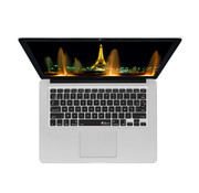 Forza Refurbished Apple Macbook Pro Retina 15 Inch US Keyboard AZERTY Cover Zwart Macbook Pro Retina 15 Inch B grade
