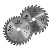 Holzmann Holzmann KSB8910Z  hardmetalen cirkelzaagbladset  met 24 & 32 tanden Ø 89 mm